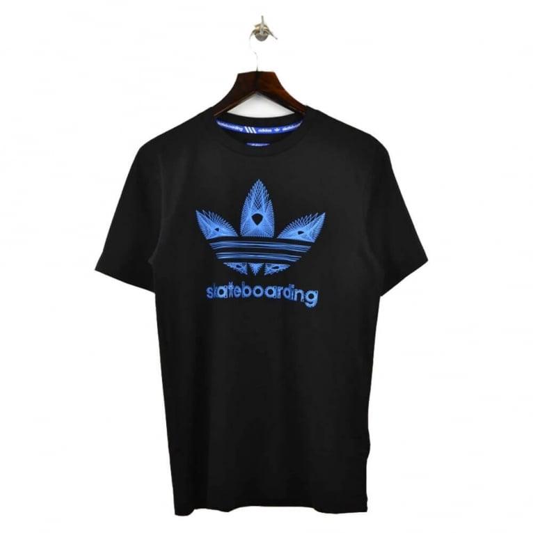 Adidas Skateboarding Graphic S_3 Tee - Black