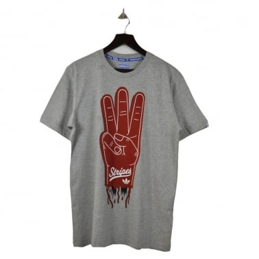 Graphic S7 Tee - Grey Heather