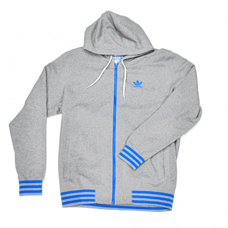 Adidas Skateboarding Little Logo Hoody - Core Grey