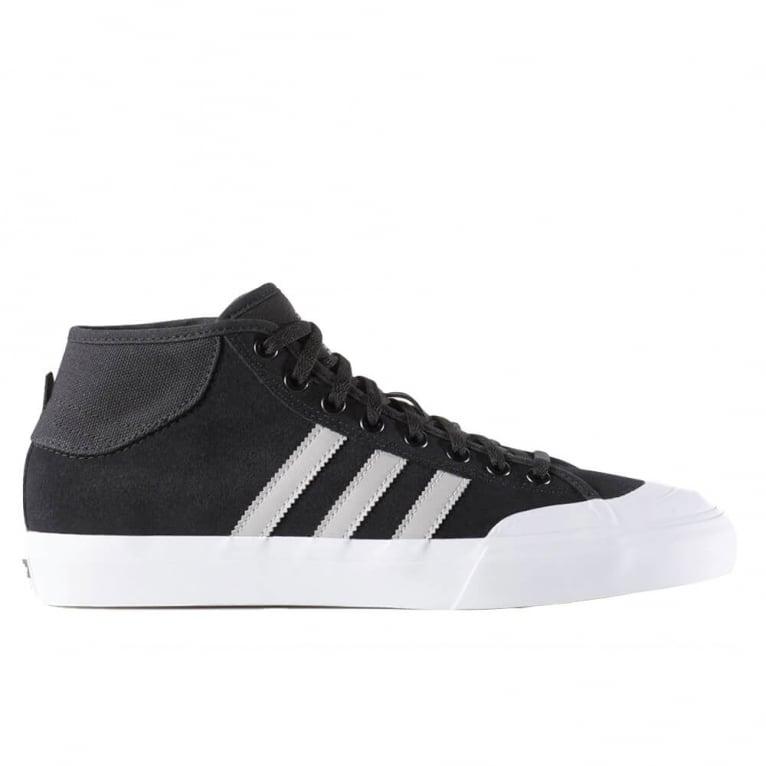 Adidas Skateboarding Matchcourt Mid ADV - Black/Grey/White