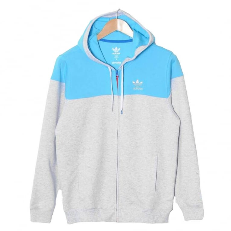 Adidas Skateboarding Pro Tech Full Zip Hoody - Grey Heather
