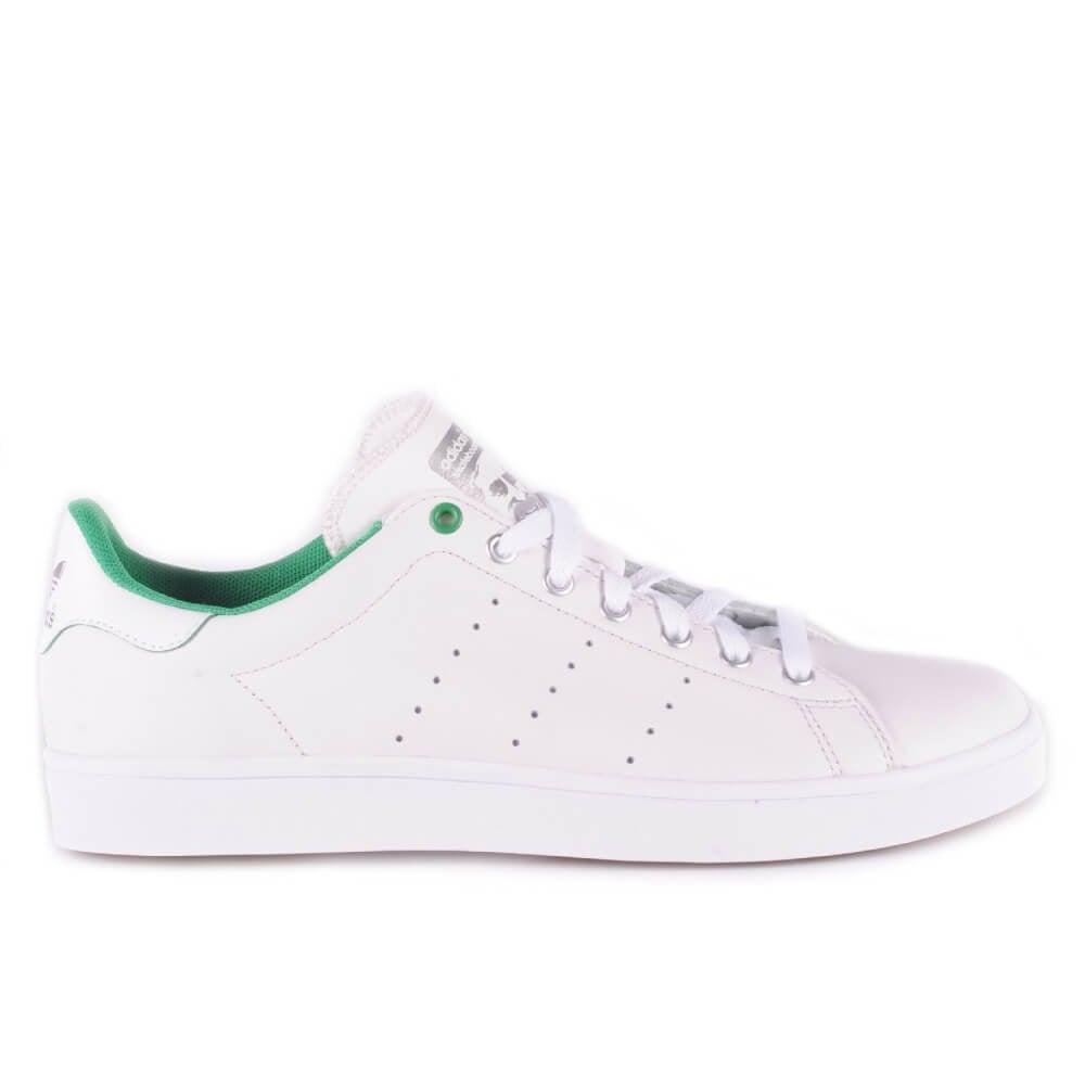 hot sale online 38346 5786b Adidas Skateboarding Stan Smith Vulcanised - Vintage White/Green
