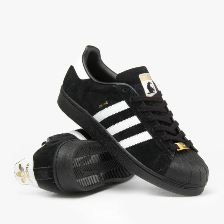 Adidas Skateboarding Superstar RT Drake Jones - Black/White