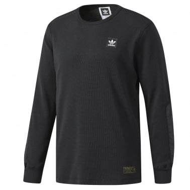 Thermal Long Sleeve T-Shirt - Black