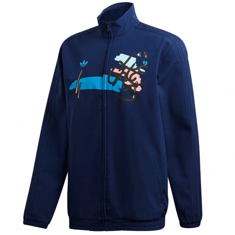 x Hélas Jacket Dark Blue
