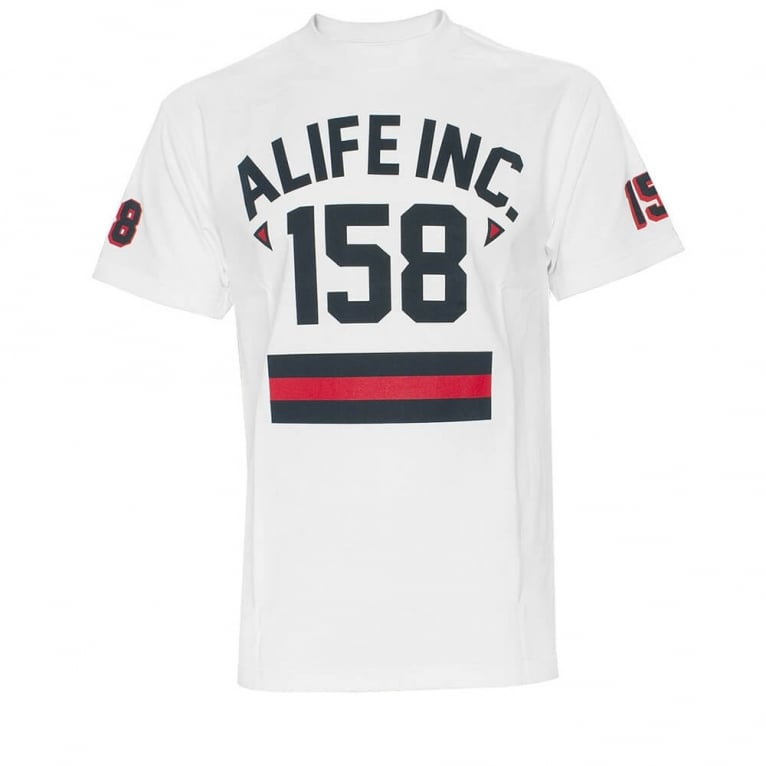Alife 158 Athletic T-shirt - White