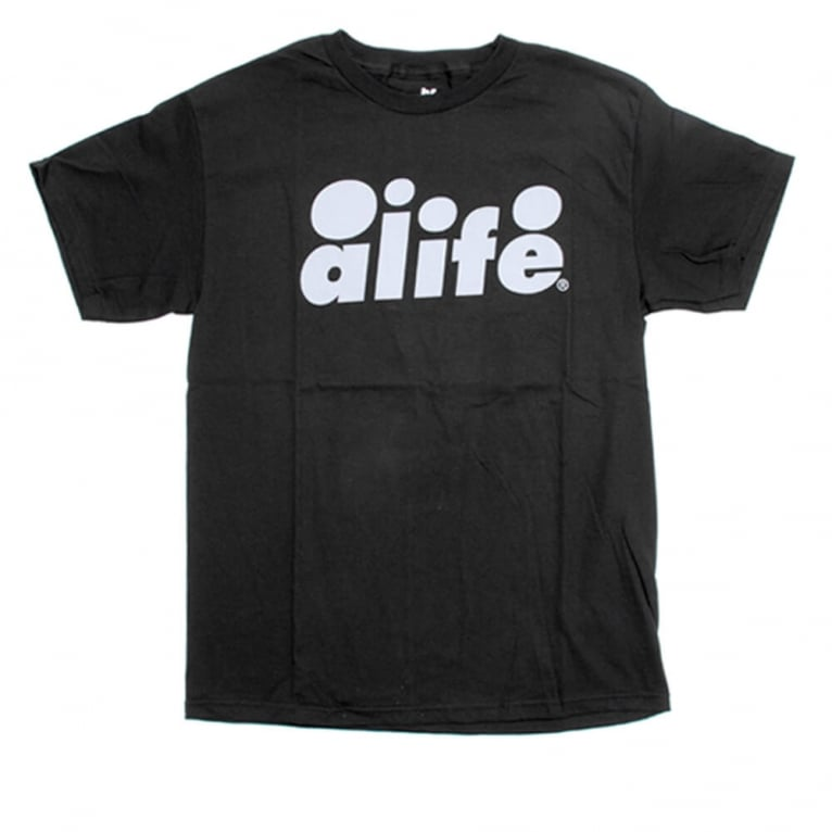 Alife Bubble Text T-shirt - Jet Black