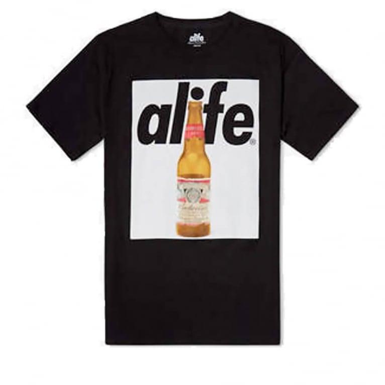 Alife Budweiser Bottle T-shirt - Black