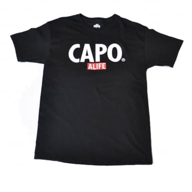 Capo T-shirt - Black
