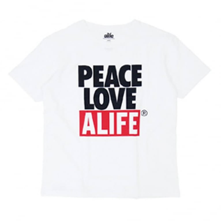 Alife Crab Shack T-shirt - White
