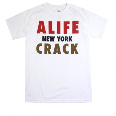 Crack T-shirt - White