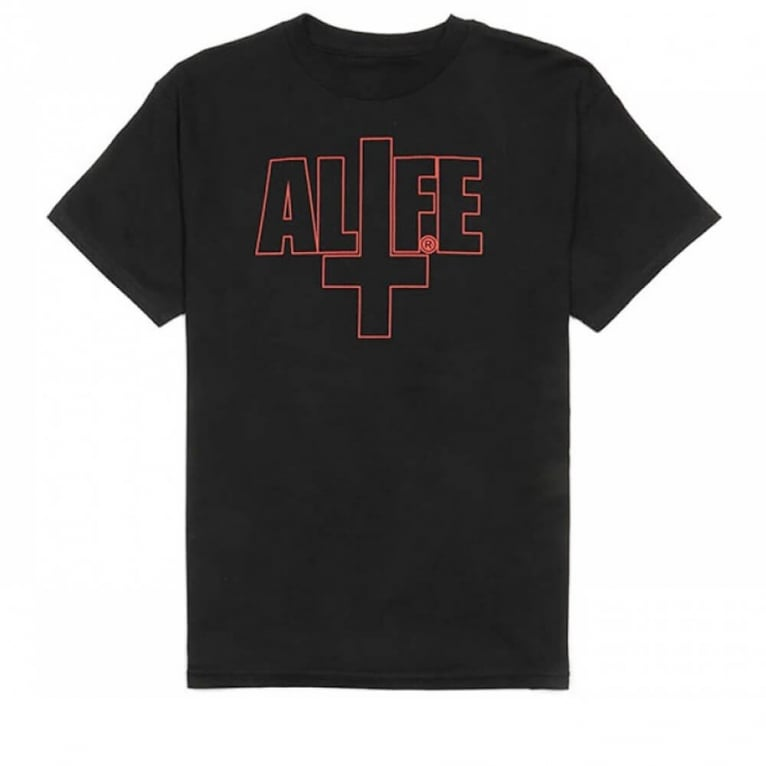 Alife The Unholy T-shirt -Jet Black