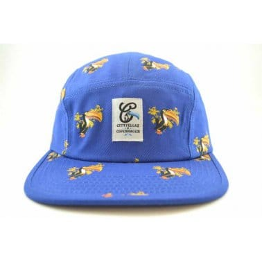 All Over 5 Panel Royal Blue