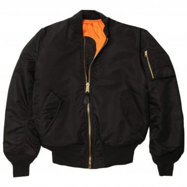 MA1 VF59 Flight Jacket - Black