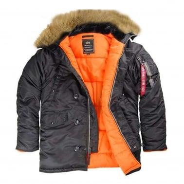 N3B VF59 Parka Coat - Black