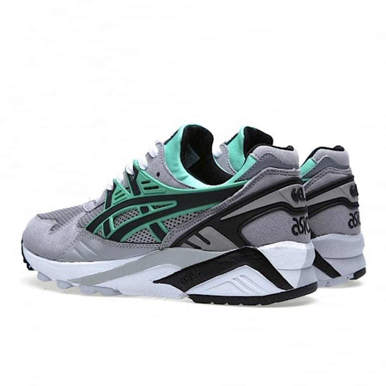 Asics Gel-Kayano - Light Grey/Black/Green