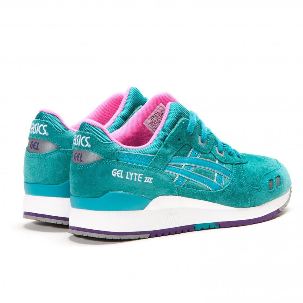 Asics Gel Lyte Iii Shoes Navy White