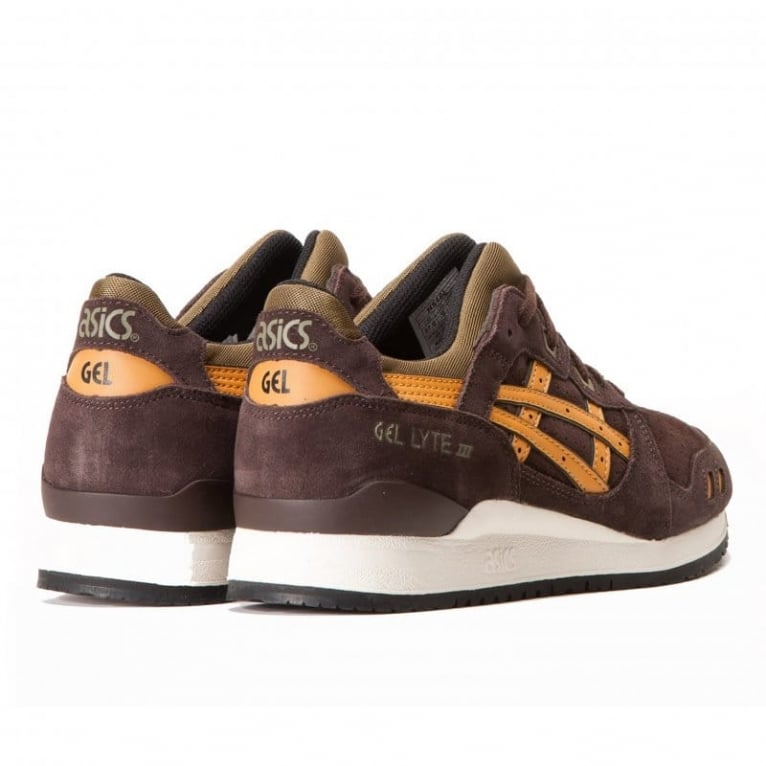 Asics Gel-lyte III 'Bamboo Pack' - Dark Brown/Tan