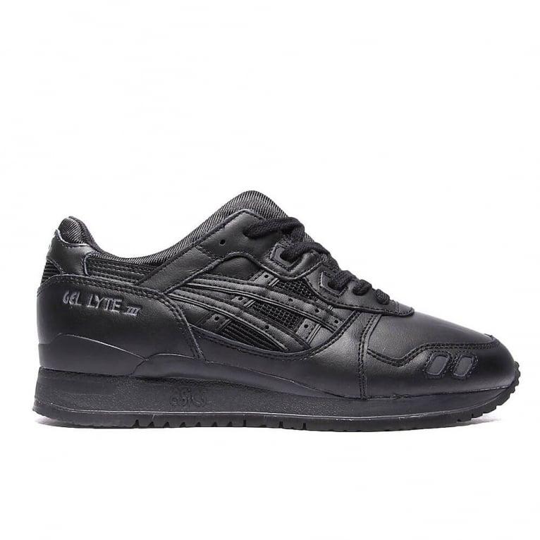 Asics Gel-lyte III 'Triple Black' Leather