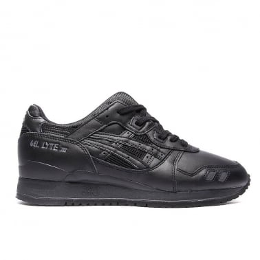 Gel-lyte III 'Triple Black' Leather