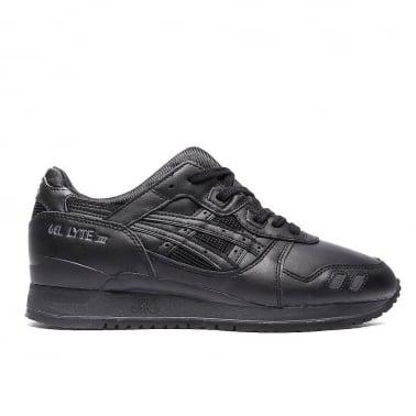 Gel-lyte III 'Triple Black' Leather