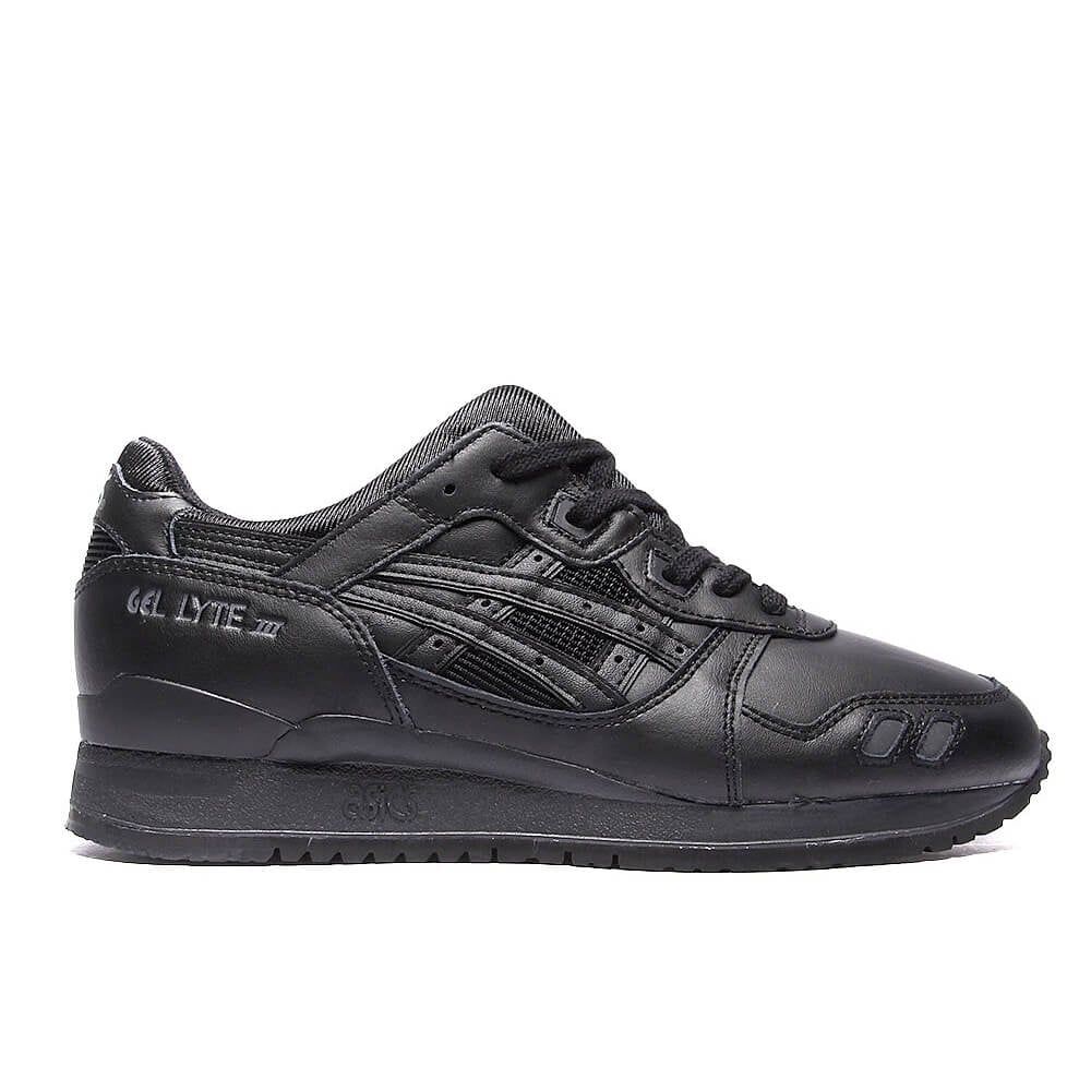 asics gel lyte 3 black leather online -