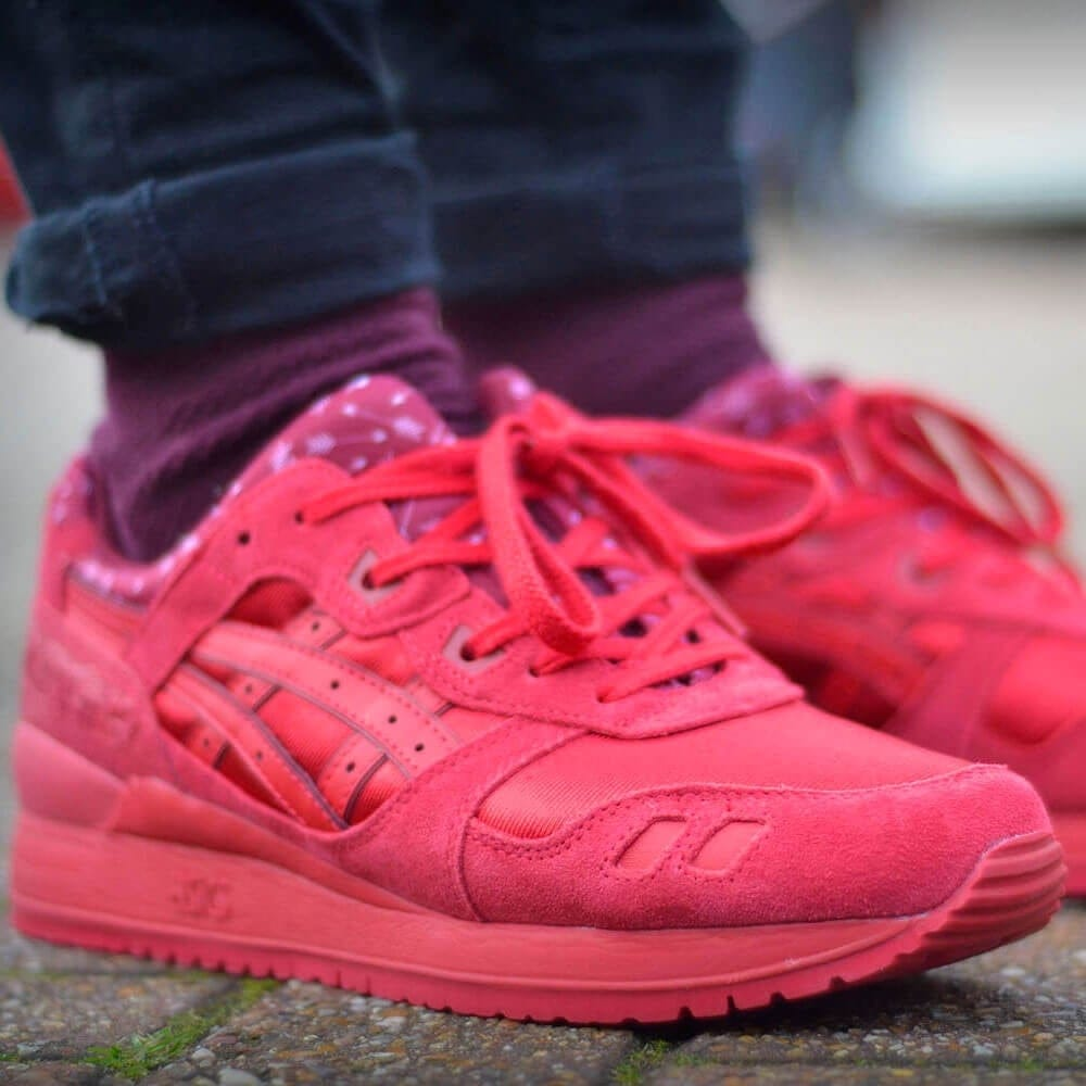 asics gel lyte 1987 rose