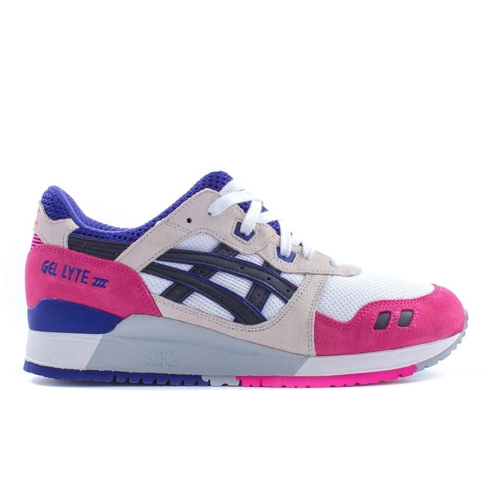 f963c36e76f3 Asics Gel-lyte III White Pink Blue