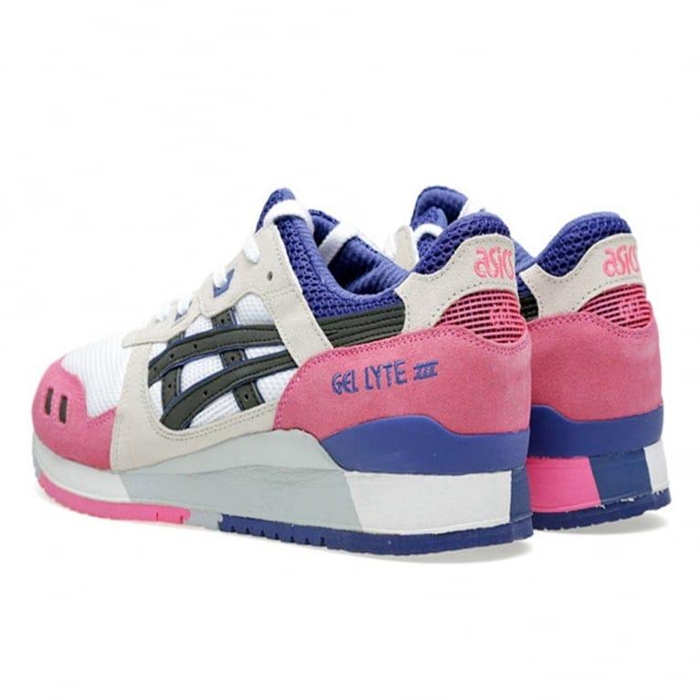 Asics Gel-lyte III - White/Pink/Blue
