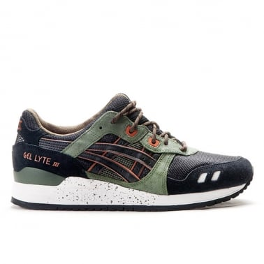 Gel-Lyte lll 'Winter Trail' - Black/Olive