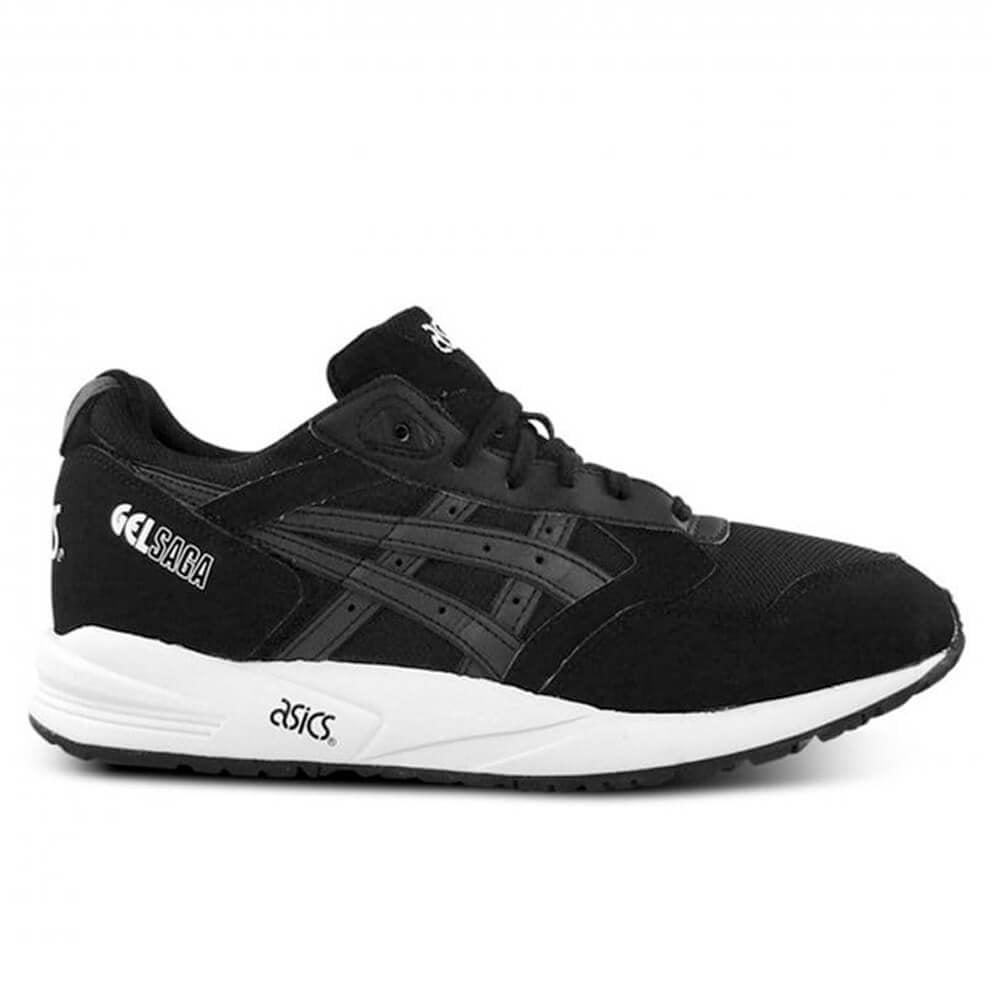 butik försäljning storlek 40 försäljning återförsäljare Black/Black Asics Gel Saga | Trainers | Natterjacks