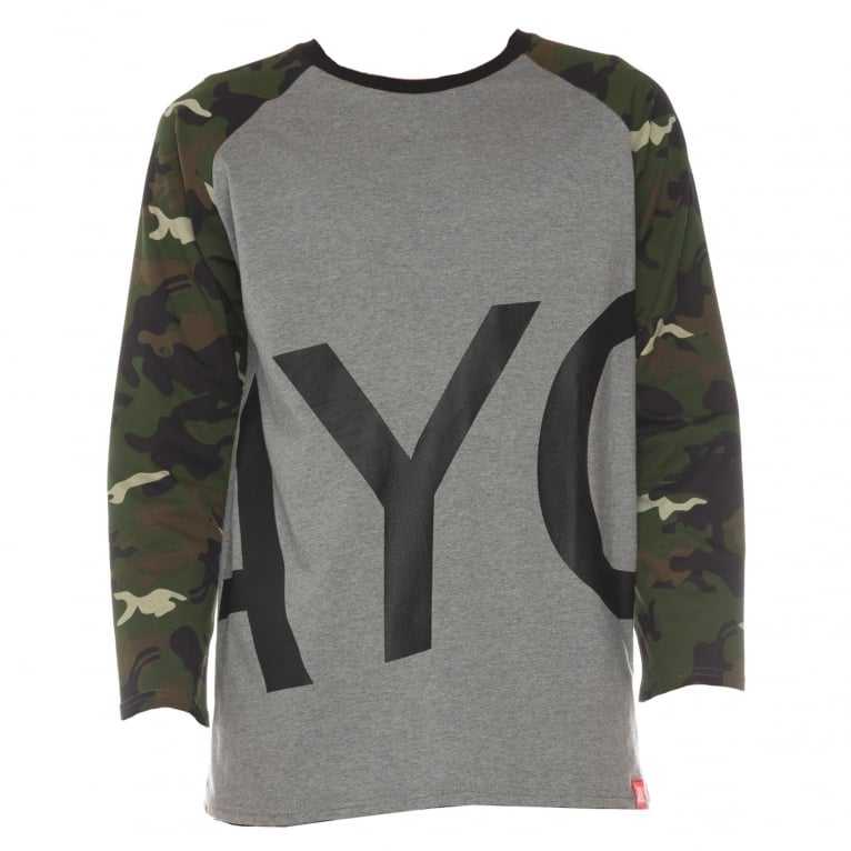 Asphalt Yacht Club Surplus T-Shirt - Camo/Heather