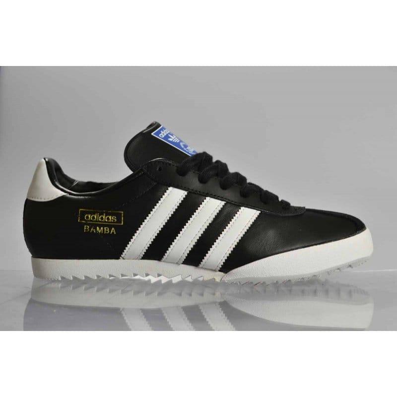 3a9cdf6a98020 Adidas Originals Bamba Black White