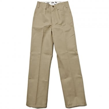 Trim Fit Pants - Khaki
