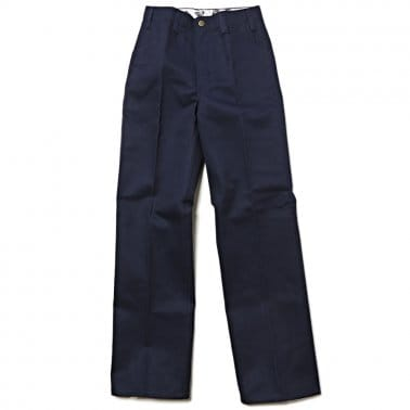 Trim Fit Pants - Navy