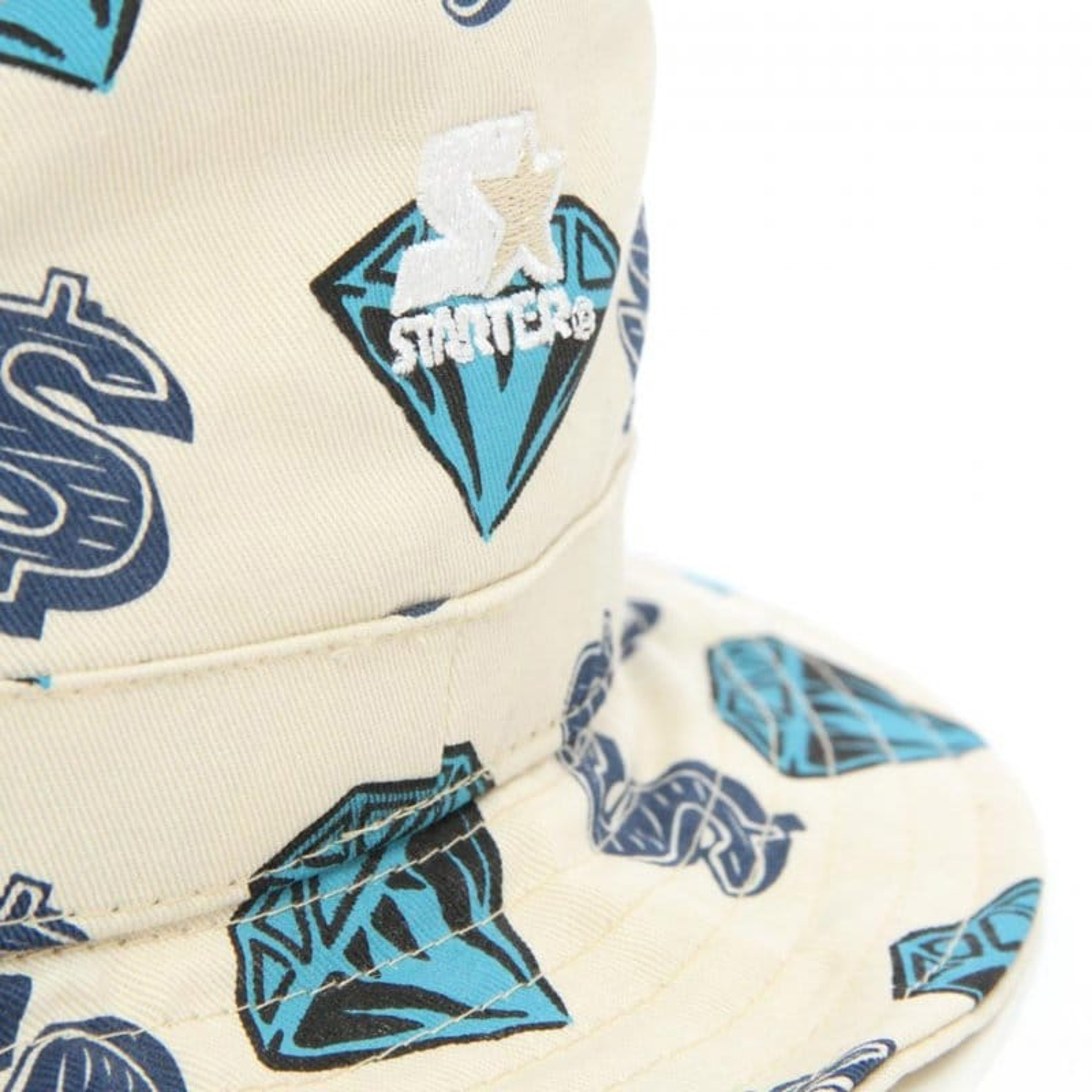 bbea8ae7a Diamond  amp  Dollar Bucket Hat - Beige