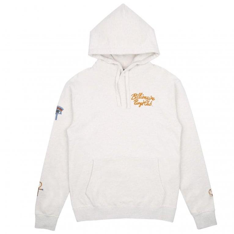 Billionaire Boys Club Souvenir Hood - White Marl