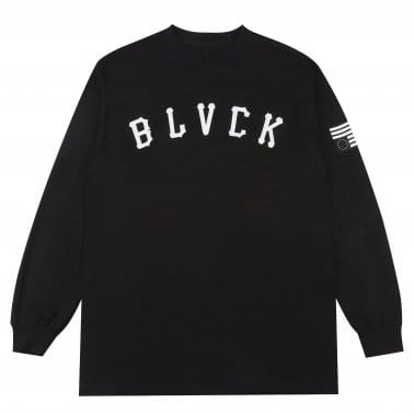 Grand Slam Long Sleeve Tee - Black