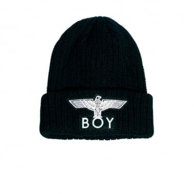 Boy London Eagle Beanie - Black
