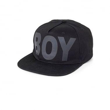 Boy Snapback - Black/Black