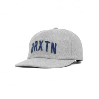 Brixton Hamilton Snapback - Heather Grey
