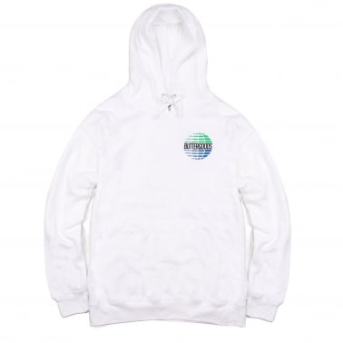 Multinational Pullover Hood - White