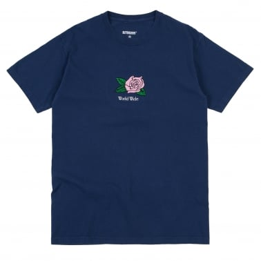 Rosa Pigment Dyed T-Shirt - Navy