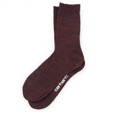 Accent Socks - Bordeaux Heather