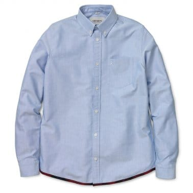 Buster Long Sleeve Shirt - Sky