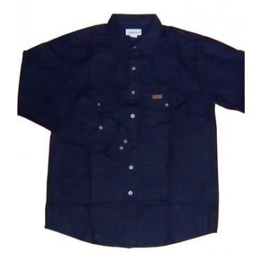 Carhartt Flannel Work Ls Navy