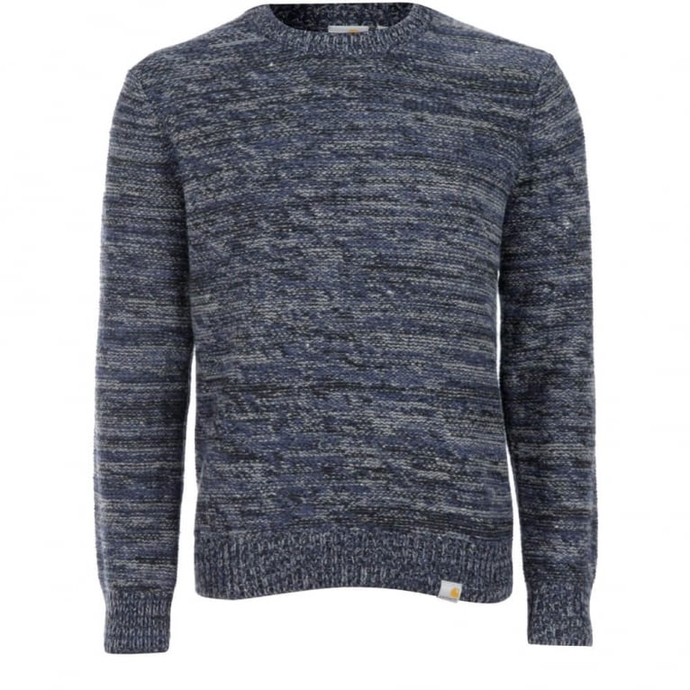 Carhartt WIP Accent Knitted Sweater - Blue
