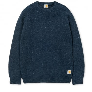 Anglistic Sweater - Navy