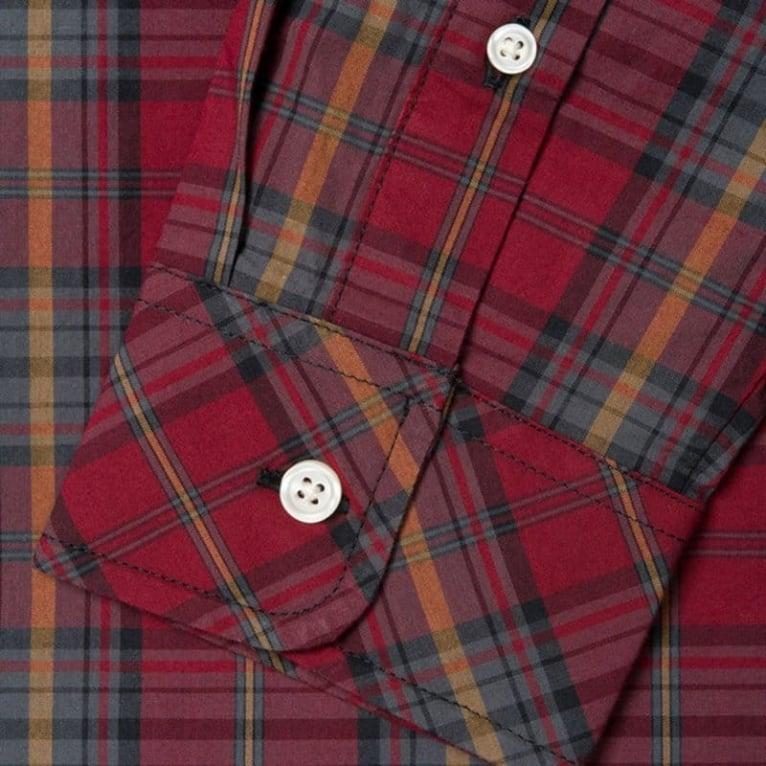 Carhartt WIP Baldwin Shirt - Cranberry