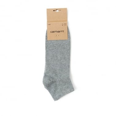 Basic Shorty Socks - Grey Heather